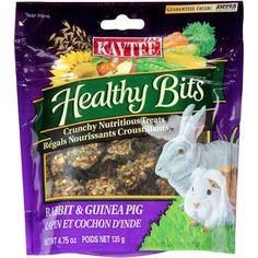 Kaytee Healthy Bits: Treats Rabbit & Guinea Pig, 4.75 Oz