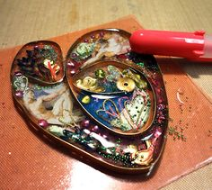 Resin Crafts: Bezel Wire and Resin - A Tutorial For Experienced Resin Users Part THREE
