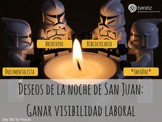 Deseos de la noche de San Juan: Ganar visibilidad laboral