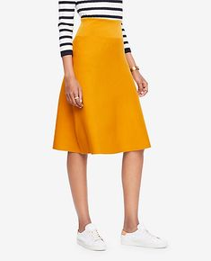 d416b0683d5d Shop Ann Taylor for effortless style and everyday elegance. Our A-Line  Sweater Skirt