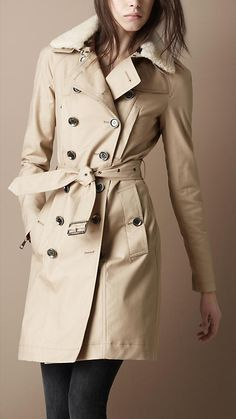 Burberry's update to the classic trench coat.