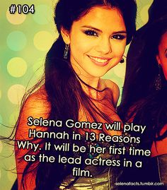 Selena Gomez Facts, 100 Songs, First Time, Love Her, Fangirl, Happy Birthday, Actresses, Guys, Celebrities