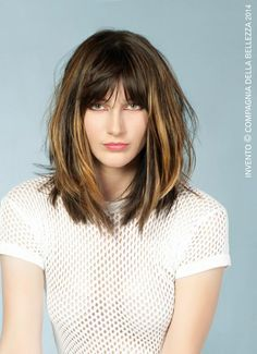 Image result for long bob with bangs