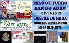 A Vida de Uma Adolescente: Desfile no Bar do Adro!!!