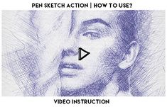 Pen Sketch Action turns your photos into realistic Pen Drawn Sketch. Save hours of work with Pen Sketch action. After action finish the work you get a well-organized and structured file wit. Sketch Photoshop, Photoshop Effects, Photoshop Actions, Photoshop For Photographers, Photoshop Photography, Newspaper Art, Photo Sketch, Pen Sketch, Double Exposure
