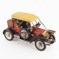 Metallic Minatures by Inart. Choose from a wide selection of mettalic minatures and choose the one according to your style. Car Ins, Industrial Style, Antique Cars, Your Style, Red Color, Collection, Metallic, Amazing, Decor
