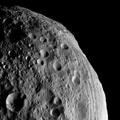 Asteroid Vesta, named for the Roman virgin goddess of hearth and home, in a picture released August 22 2011.    NASA's Dawn spacecraft snapped the shot from the satellite's orbit around Vesta. The space rock is part of our solar system's main asteroid belt, between the orbits of Mars and Jupiter. The massive asteroid is considered a protoplanet, a would-be planet whose growth was interrupted in infancy by the formation of Jupiter.