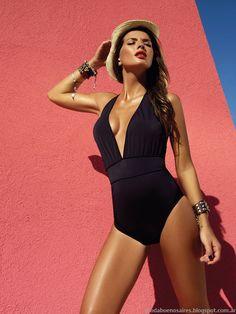 Bikinis y Mallas enterizas 2014. Trajes de Baño Sweet Lady 2014.
