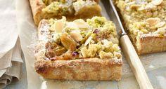 Tarte à la rhubarbe et bananeVoir la recette de la tarte à la rhubarbe et banane