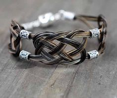 Personalized Horse Hair Bracelet Jewelry