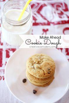 Creative Cain Cabin: Freezer Cookie Dough