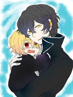 Vincent and Gilbert ||| Pandora Hearts Fan Art by レス
