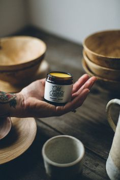 There are few things more satisfying then creating something with your bare hands, they are the greatest tools you will ever own! Whether you are working a potters wheel, a lathe or a simply at a desk, this balm will moisturise, protect and heal. Treat yourself or a creative friend to this Makers Balm from our friends at Old Faithful.