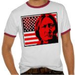 Sitting Bull flagged red Shirts