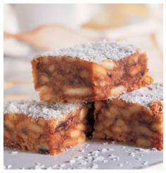 Marie and Date Squares Biscuit Treats | Huletts Sugar