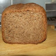 Grahamový chléb z domácí pekárny recept - Vareni.cz Graham, Banana Bread, Cooking, Food, Ds, Kitchen, Essen, Meals, Yemek