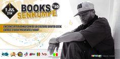 Books en Concert ce 05 Juillet Rdv à la maison de la culture Douta Seck pour le concert de Sen Kumpe. Guest et surprises au prog. http://www.wakhart.com/events/books-en-concert/