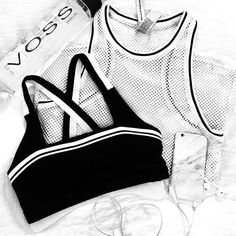 Monochromes to set the tone… Our Beckham Sports Bra & Socialite Mesh Tank are the perfect pair to keep you active every wear! Rock with your boyfriend jeans or get that fit feeling with your favourite tights… Image via @thedairy - get these essentials via our instashop today! x #thisisactiveliving #lornajane #activeliving #movenourishbelieve