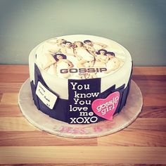 Cake for a Gossip Girl Party goosip girl Pinterest Gossip
