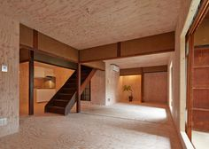 NAAD lines a century-old Japanese house with plywood.