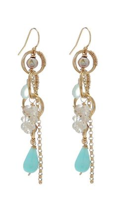 Summer #Earring $89  https://www.luxeyard.com/womens/invitation/customer_account/create/invitation/ODczMTU6MDkxMmQ1NjFmM2ExOWRjMWMzZjY0MDY4ODk5NWQ0NDc,/