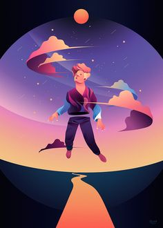 Personal illustrations on Behance