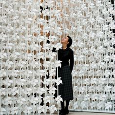 Wind Portal: An Interactive Installation Constructed out of Thousands of Paper Windmills | Junkculture
