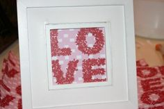 Easy $2 Valentine's craft!