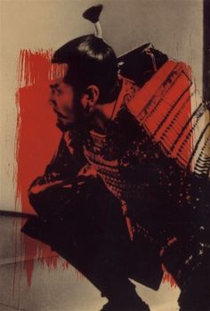 "Toshiro Mifune in ""Throne of Blood"" (Trono Manchado de Sangue, 1957, de Akira Kurosawa) 