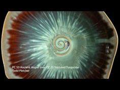 Layering AMACO dipping glazes - YouTube