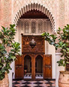 Architectural Digest   El Fenn Hotel Marrakech   photo credit: Saad Alami.