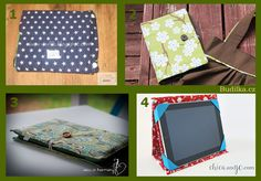 Obal na tablet - Budilka Diy And Crafts, Lunch Box, Scrappy Quilts, Bento Box