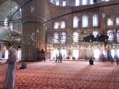 Sultan-Ahmed-Moschee / Sultanahmet Camii Sultan, Istanbul, Mosque