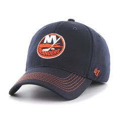 New York Islanders Game Time Closer Navy 47 Brand Stretch Fit Hat