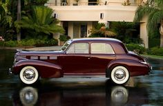 1938 Cadillac Sixty Special.