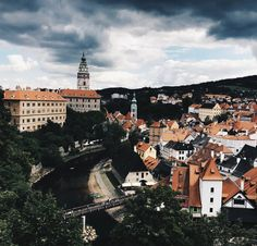 Český Krumlov in Czech Republic #beauty #city