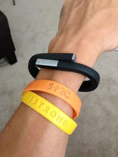 """""""My Jawbone UP is a win in my book. Inseparable health assistant!"""" - Wang"""