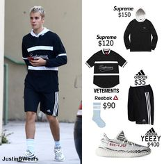 Justin Bieber Style Yeezy, Reebok, Justin Bieber Style, Tumblr Boys, Adidas, Behind The Scenes, Fitness, Outfits, Style