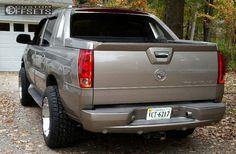 3 2003 Escalade Ext Cadillac Leveling Kit Body Lift Hostile Havoc Chrome Aggressive 1 Outside Fender
