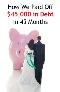 How We Paid Off $45,000 in Debt in 45 Months | Newlyweds on a Budget