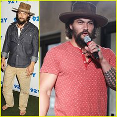 Jason Momoa Hits Red Carpet Barefoot for Screening of his Directorial Debut 'Road to Paloma' Celebrity Gossip, Celebrity News, Just Jared, Jason Momoa, Indiana Jones, Pop Culture, Pride, Mens Fashion, Guys