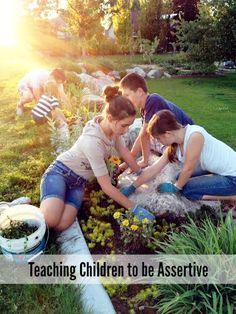 Teaching Children to be Assertive
