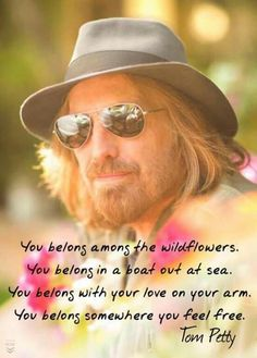 Tom Petty October 1950 - October 2017 just 18 days shy of his birthday Tom Petty Quotes, Tom Petty Lyrics, Music Lyrics, Music Quotes, Song Quotes, Music Music, Kindness Quotes, Music Bands, Music Is Life
