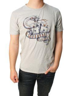 Lucky Brand Men's Snake Eyes Graphic T-Shirt