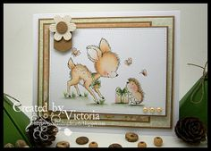 Bluebell with Hedgehog ~ Wild Rose Studio