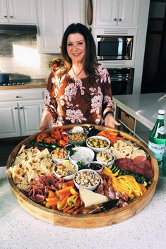 Epic Greek Charcuterie Board in 2020 Plateau Charcuterie, Charcuterie And Cheese Board, Charcuterie Platter, Cheese Boards, Hummus Platter, Party Food Platters, Food Trays, Party Trays, Comida Picnic