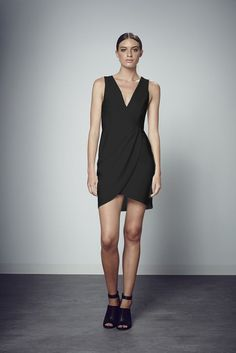 Shilla The Ultimate V-Neck Overwrap Dress