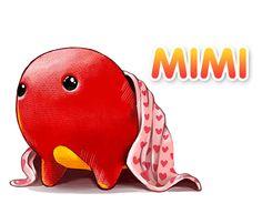 """Hi, I'm Mimi. I'm a Mumu princess from the world of Badanamu."""