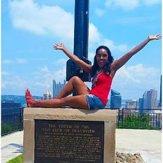 Sights and smiles with @deedys_travel_diaries at Pittsburgh's #MtWashington. Travel Well #TravelFly! :::::::::::::::::::::::::::::: #PassportLife #BlackGirlsTravel #PassportReady #Travel #BrownGirlsTravel #DoYouTravel #Wanderlust #Fernweh #TravelTheWorld #TravelOn #BlackTravelers #TravelAddict #TravelJunkie #TasteInTravel #LadiesGoneGlobal #LuxeTravel #WellTraveled #InspireToTravel #TravelLife #TravelGram #TravelBetter #IGTravel #WeTravel #Explore #PassionPassport #JetSetting