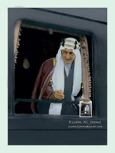 King Faisal bin Abdulaziz Al Saud . This image is in fact black and white and rare pictures Colors, it's clear in the image of my design Saudi Arabia Prince, Saudi Princess, Saudi Arabia Culture, Ksa Saudi Arabia, National Day Saudi, Saudi Men, Amoled Wallpapers, Deserts Of The World, Tumblr Stickers